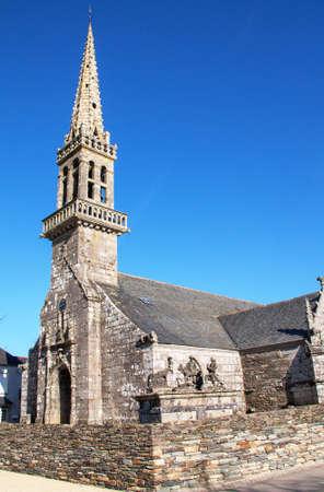 architecture alphabet: Parish Church St. Jrome, Cast, Finistere, Brittany