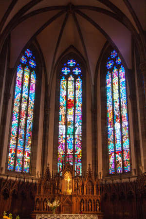 cited: Lutheran Church of Ribeauville, Alsace, Haut Rhin, France