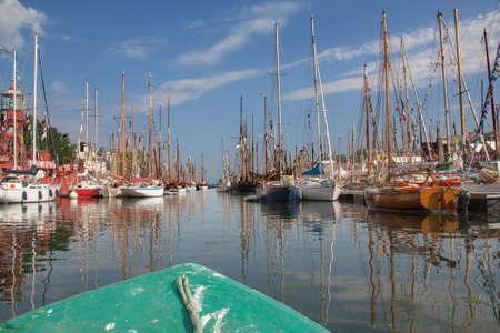 Żaglowce do morskich festiwali Douarnenez Finistere