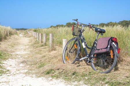 Velo on coastal path