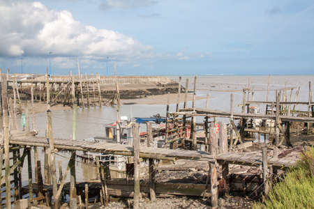 channeled: The beak of the port, Chinese port, Bouin, Beauvoir sur mer, in Vende