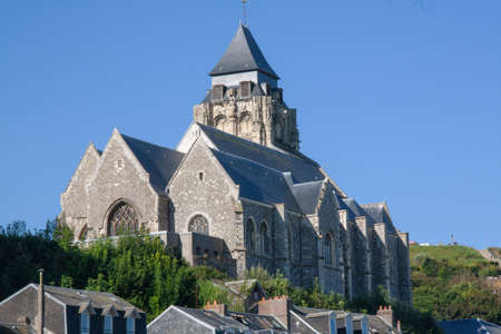 st jacques: St. Jacques Church at Treport, Somme, Picardy, France