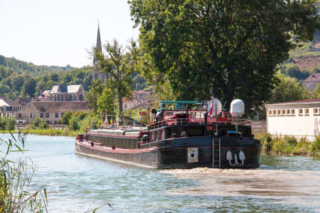 cited: Peniche on the canal between Champagne and Burgundy, Joinville, Haute Marne, France