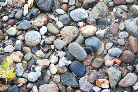 honing: Small pebbles on the beach Stock Photo