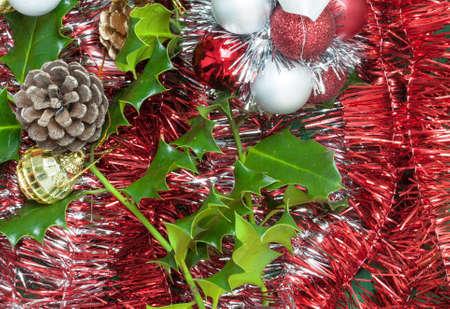 Décorations de Noël Banque d'images - 49257149