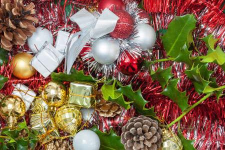 cor: Christmas decorations