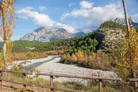 pyrenean: Landscape pyreneen Spanish, los reserve circos, Aragon, Spain Stock Photo