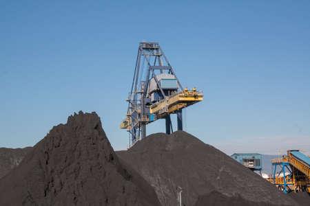 conveyor rail: Coal storage and treadmill