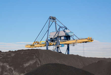 conveyor rail: Coal storage and treadmill