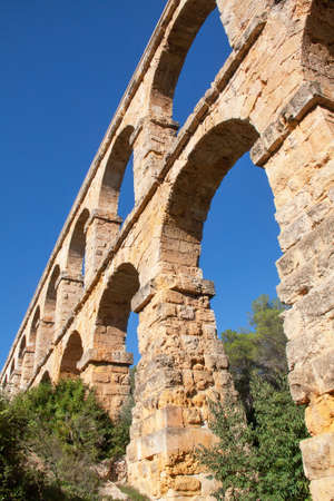 Tarragona, the Devils Bridge, a historical monument, 1st century, Spain