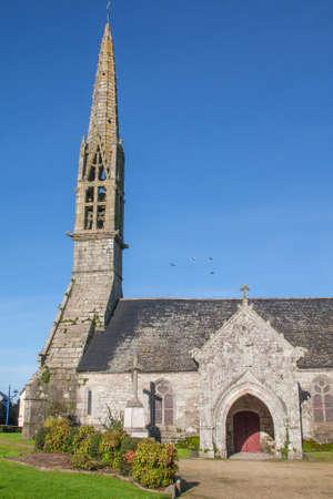 christendom: Eglise Saint Ergat has Pouldergat, Finistere, Brittany