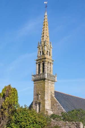 christendom: Eglise Saint Faron, Pouldreuzic, Finistere, Brittany, France