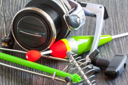 riel: Mat freshwater fishing riel