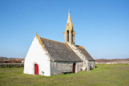 Chapel St Vio, Tr? ? Guennec, Finist?re, Brittany