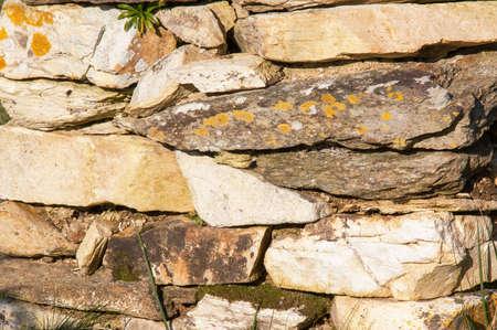 granite wall: Granite wall
