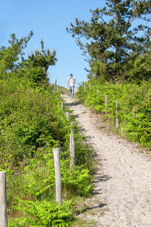 hiking path: Hiking path has advanced in the Finistere Mousterlin