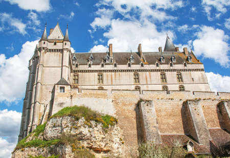 The renaissance Chateau, Chateaudun, Eure et Loir, Centre, France