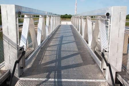 metal: metal bridge Stock Photo
