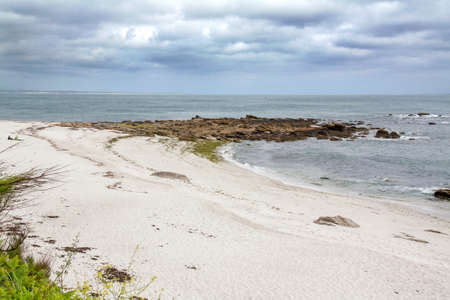 beg: Plage Beg meil, Finistere, Brittany