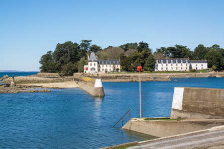 cited: L? ? ? island Tristan, Douarnenez, Finist?re, Brittany, France Stock Photo