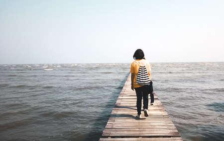 woodbridge: Woman and sea