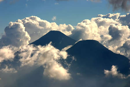 guatemala: Volcanos Stock Photo