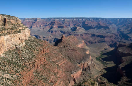 Grand Canyon at the daytime over blue sky