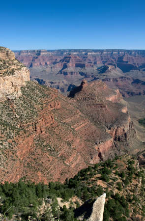 West Rim of the Grand Canyon at a daytime