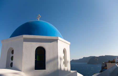 Santorini chapel Stock Photo - 11373919
