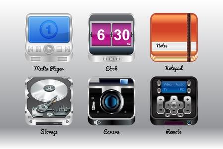 ios: Ic�nes de haute qualit� pour les appareils mobiles, android ou ios
