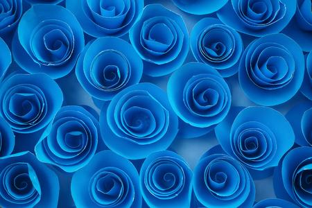 top view of paper flower 版權商用圖片