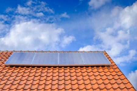 Alternative energy from solar panels.