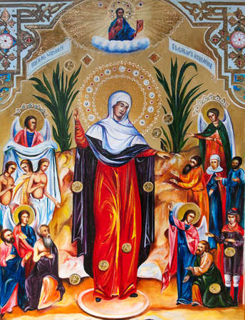 Icon of the Blessed Virgin.