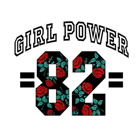Girl power 82 with roses