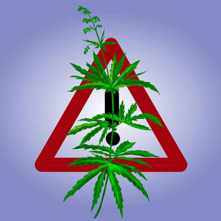 Prohibiting sign of cannabis