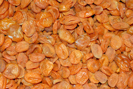 Dried apricots. Eastern sweets. Background image Foto de archivo