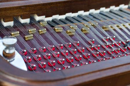 instrumentalist: Cimbalon detail on wedding day