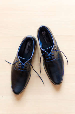 Elegant black shoes ready to dress up