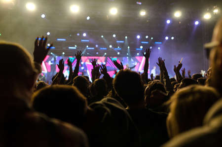 christian music concert and worship
