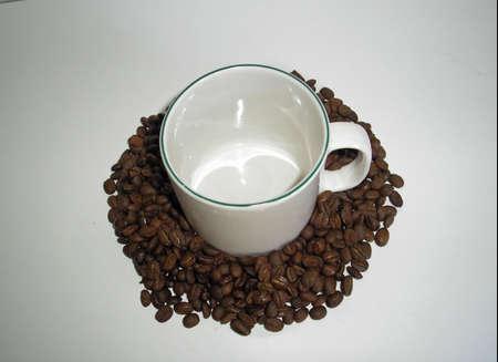 Coffee Beans and Mug