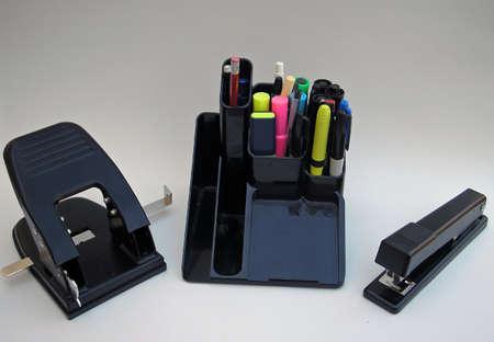 office stapler: Office Supplies      Stock Photo