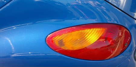 tail light: Tail light of a car.