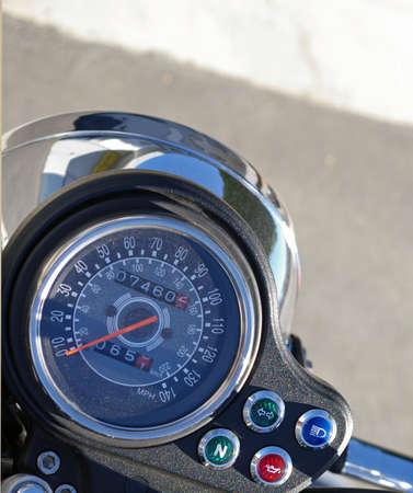 Motorcycle Speedometer Stok Fotoğraf