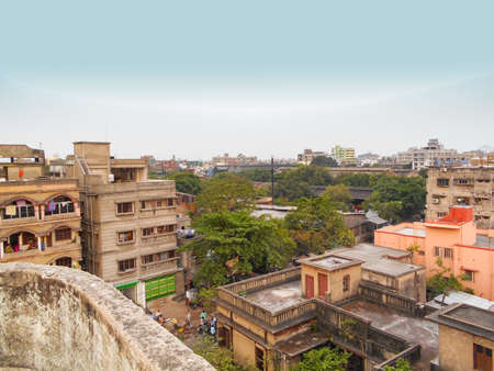 Howrah, West Bengal, India- May 07, 2017: Nice afternoon time in Howrah with people. Editorial