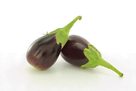 eggplants closeup  Banque d'images
