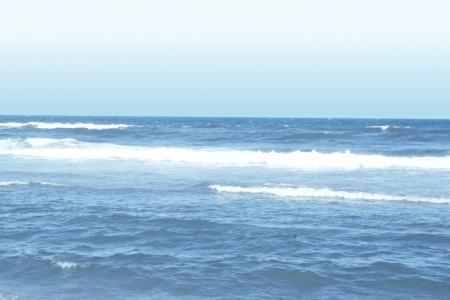 beautiful blue ocean view photo