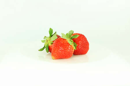 fragaria: fresh strawberry fruit