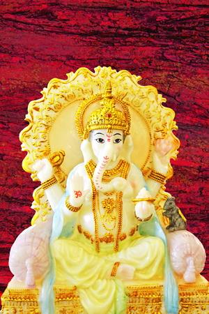 god Ganesha idool Stockfoto