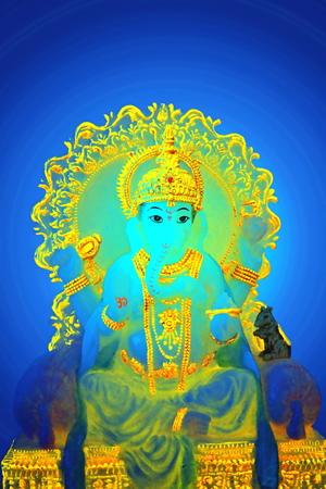 idol: god ganesha idol
