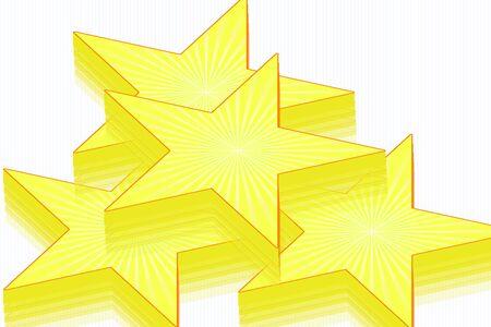 3 d: 3 d star design